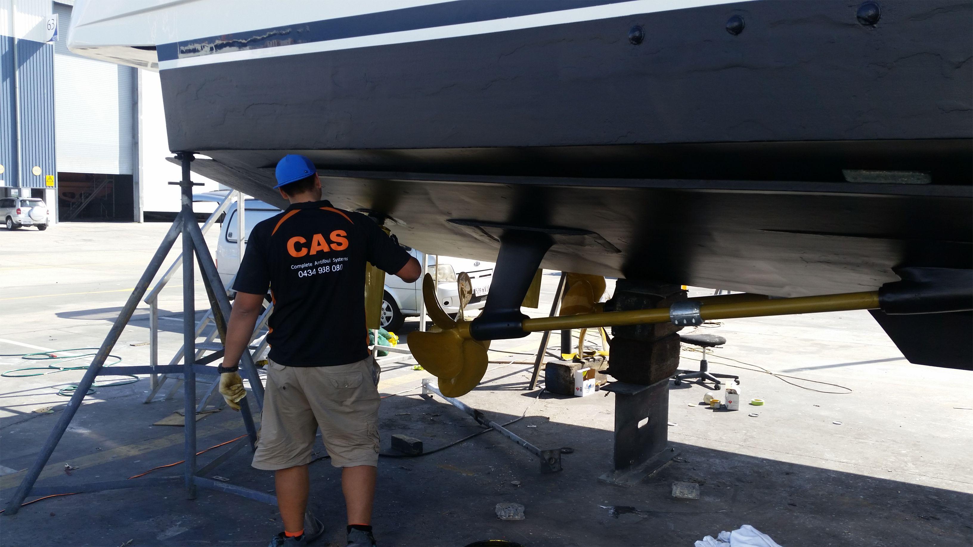 CAS Antifoul Boat